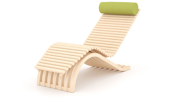 Chaise lounge chairs for outdoors - Idee lounge outs heeft eet ...