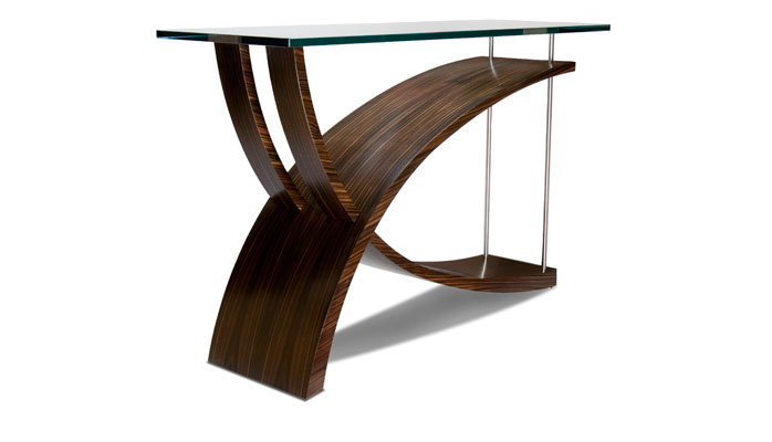 Macasser Console Table