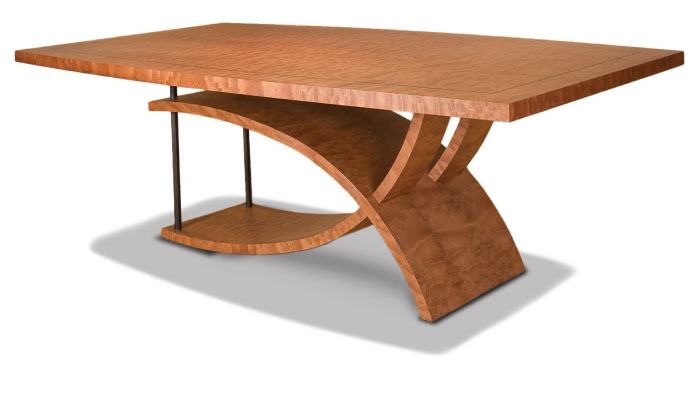 Dining table wood finishes dining table for Wood table top designs