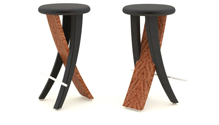 Andrew Muggleton Furniture Design Bar Stool